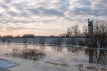 Ansicht der Grenze in Western Pomerania, Deutschland — Stockfoto