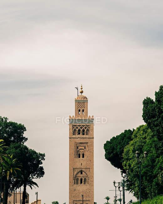 Mosquée de la Koutoubia à Marrakech, Maroc — Photo de stock