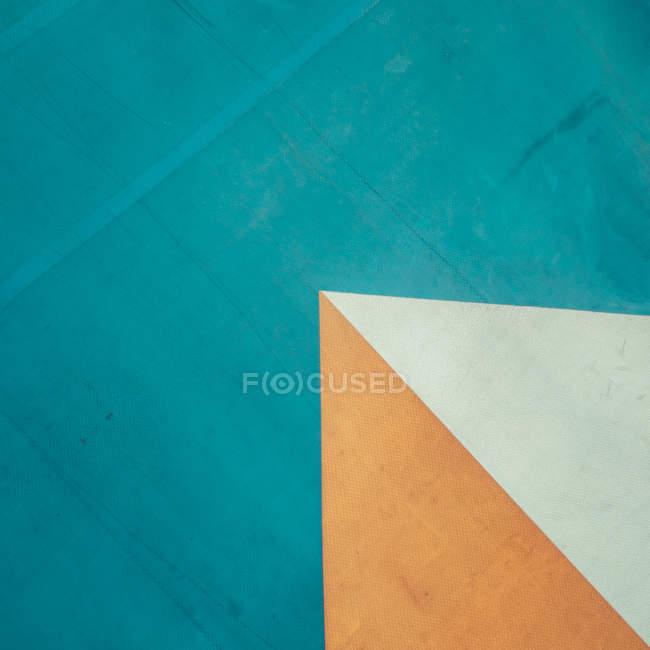 Trama di linee geometriche astratte variopinte — Foto stock