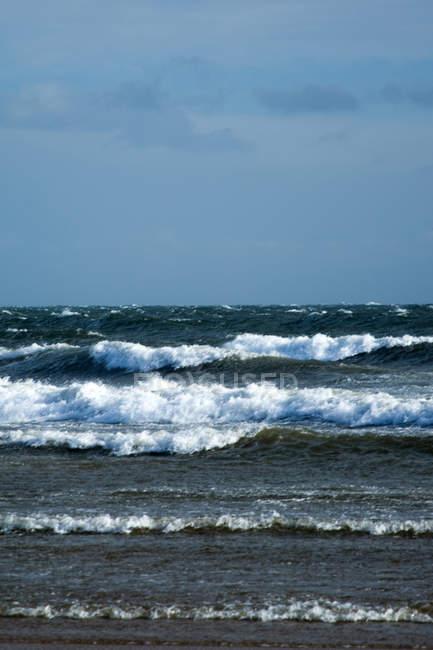 Vue mer panoramique — Photo de stock