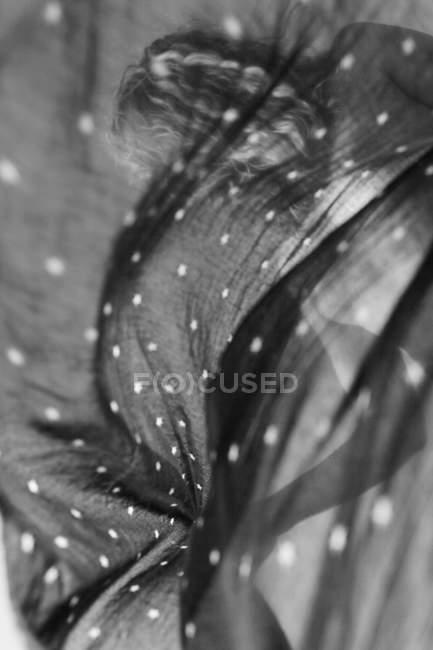 Абстрактная структура, черный и белый Текстиль — стоковое фото