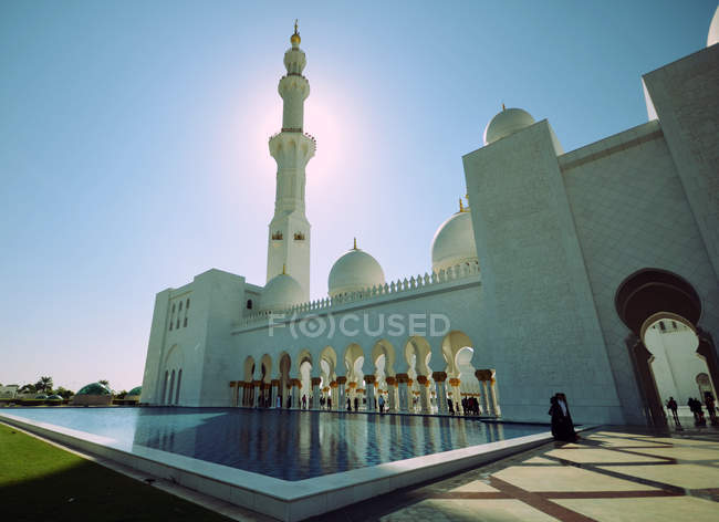 Traditional muslim mosque — Stock Photo