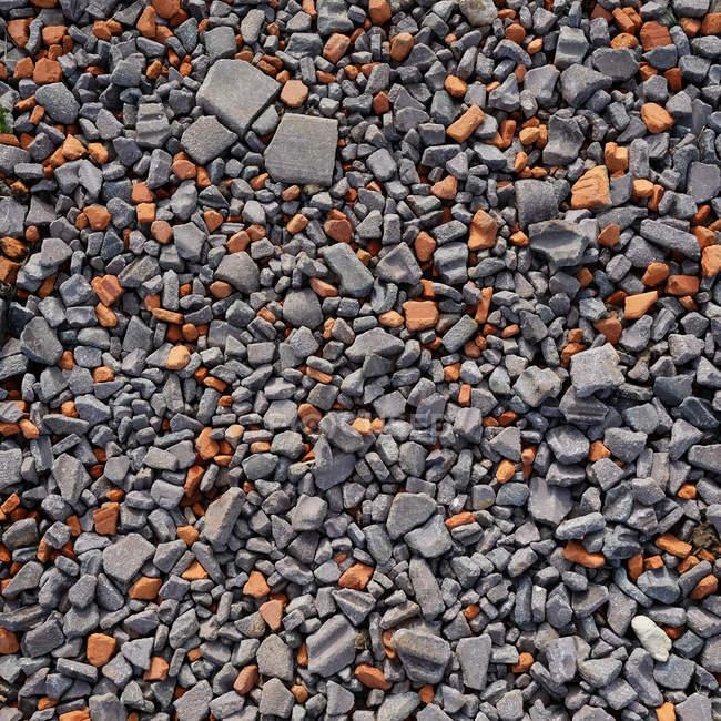 Vista do close-up do padrão de pedras — Fotografia de Stock