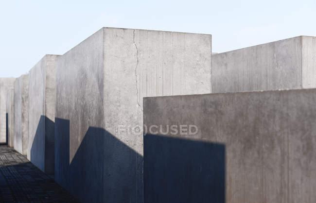 Memoriale dell'Olocausto, Berlino — Foto stock