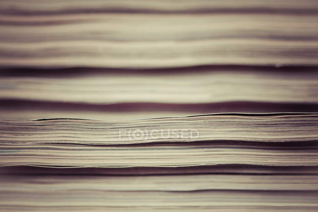 Close-up view of paper sheets — Stock Photo