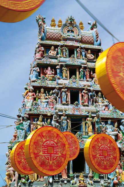 Temple Sri mariamman — Photo de stock
