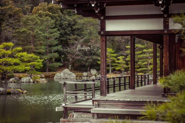 Jardin de style japonais — Photo de stock