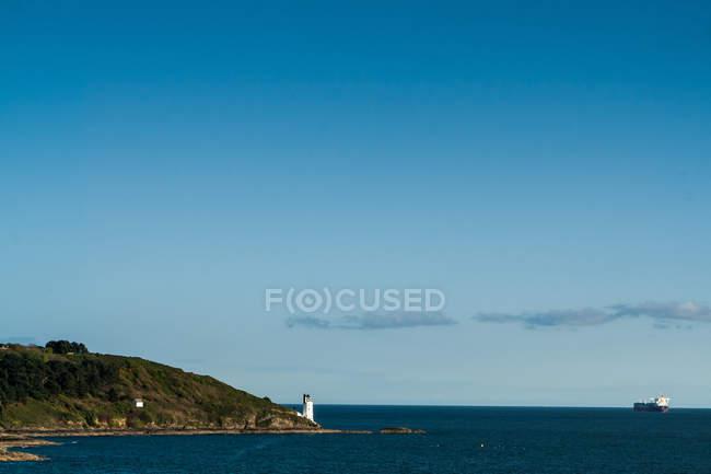 Blick auf Küste Cornwalls — Stockfoto