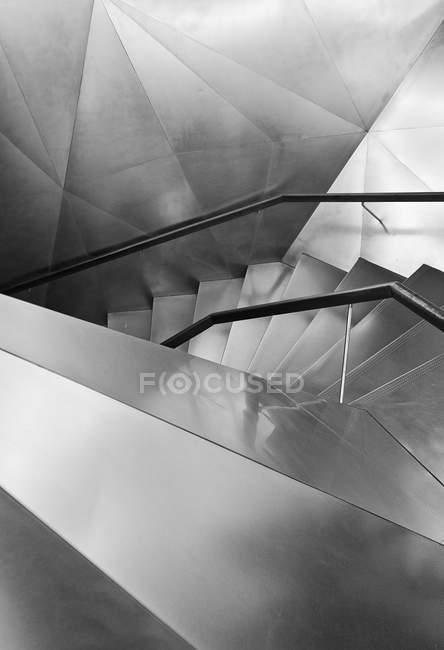 Cortada de vista da construção de escadaria — Fotografia de Stock