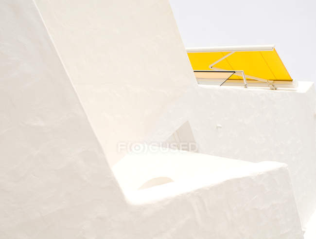Bâtiment de forme architecturale moderne — Photo de stock