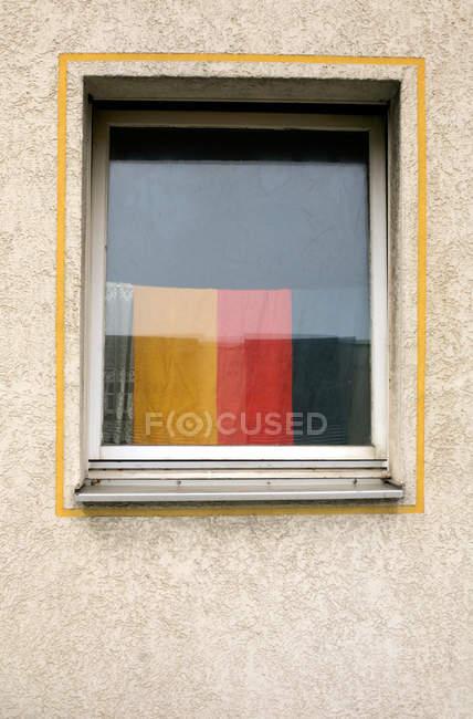 Повного кадру зображення стіну з вікном — стокове фото
