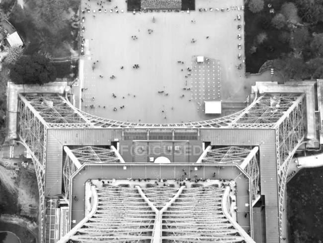 Praça da Torre Eiffel — Fotografia de Stock