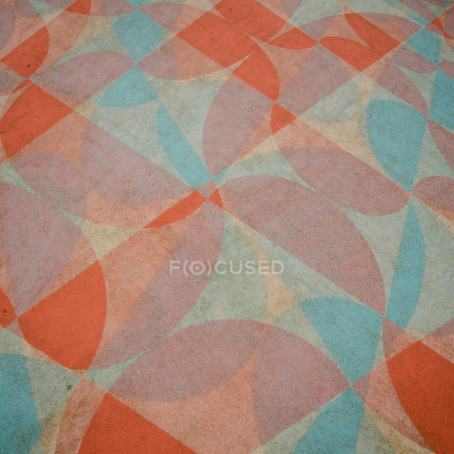 Close-up view of ancient flooring pattern — Stock Photo