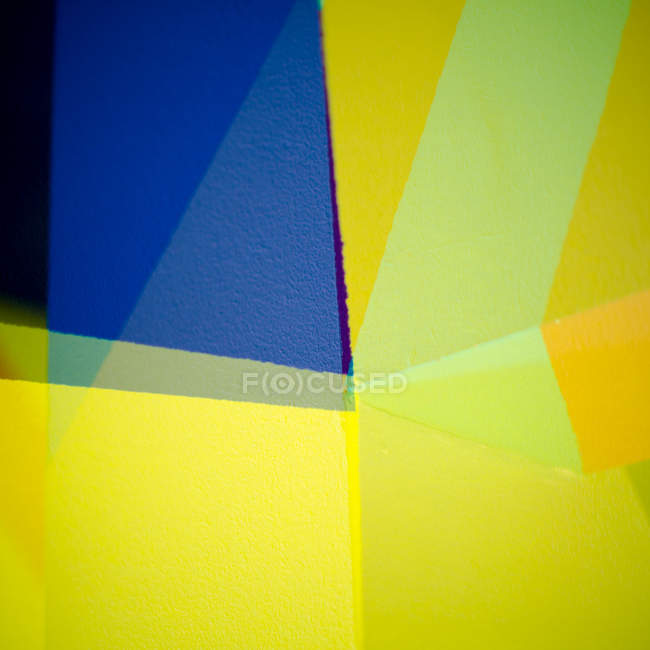 Astratto geometrico elegante colorato — Foto stock