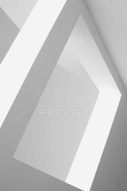 Vista parcial da textura da parede de concreto, conceito minimalista — Fotografia de Stock