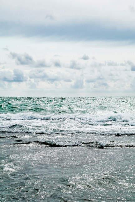 Vue panoramique du paysage marin au Danemark — Photo de stock