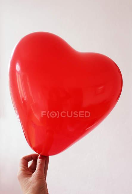 Balão de exploração de mão — Fotografia de Stock