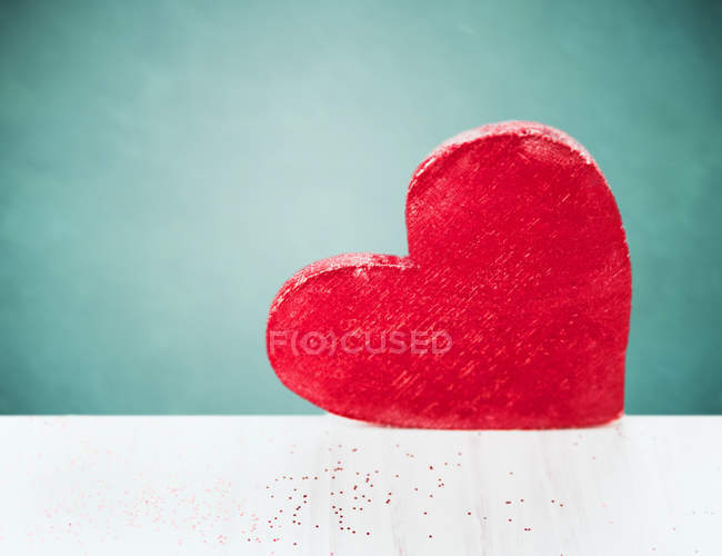 Red heart sweet candy — Stock Photo