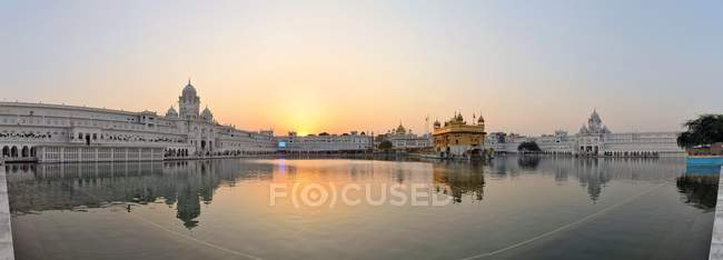 Sikh Golden Temple Reflexion — Stockfoto