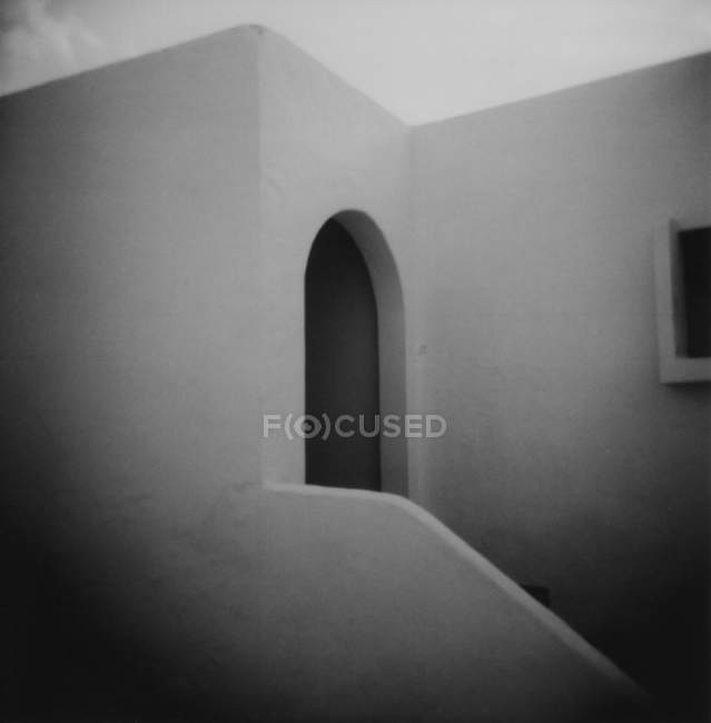 Minimalistic architectural shape — Stock Photo