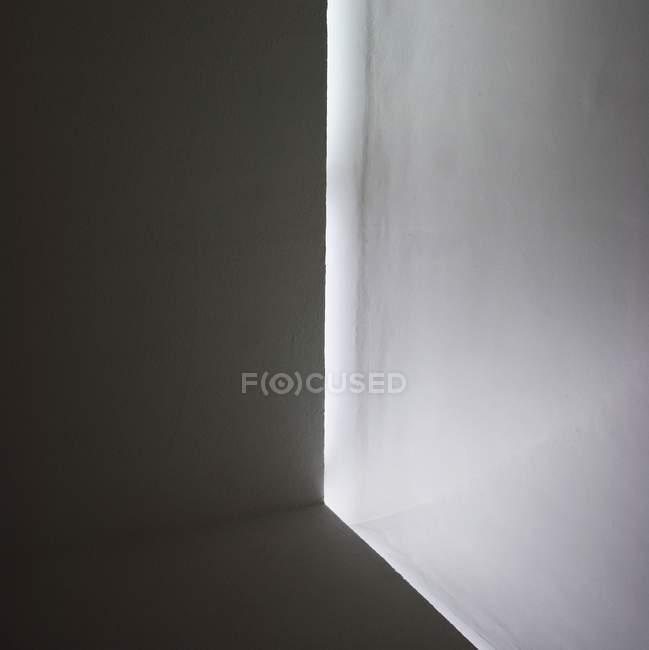 Closeup view of metal cube corner — Stock Photo