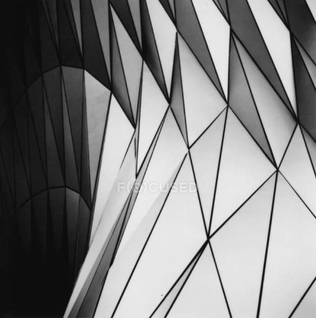 Abstract monochrome stylish geometric background — Stock Photo