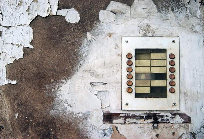 Im Alter von alten Wand Textur Schaltflächen und