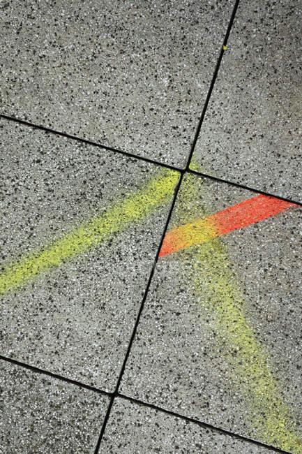 Абстрактный красочные стильным геометрические фон — стоковое фото
