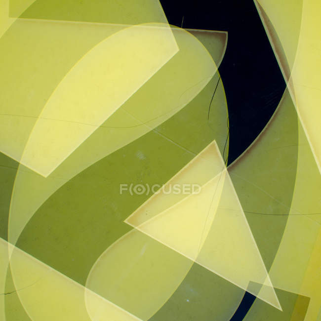 Abstract colorful stylish geometric background with number two — Stock Photo