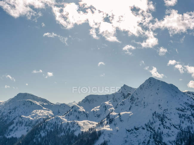 Landscape of Austrian Alps — Stock Photo