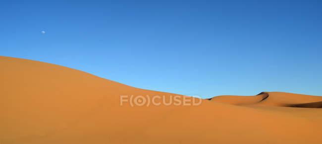 Dunas de areia no deserto — Fotografia de Stock
