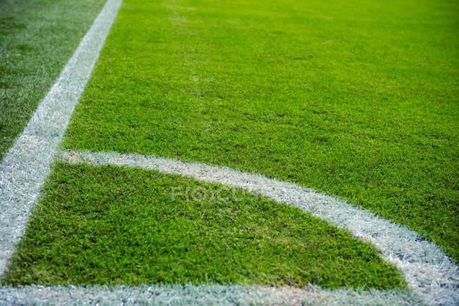 Teilansicht des Stadion-Boden — Stockfoto