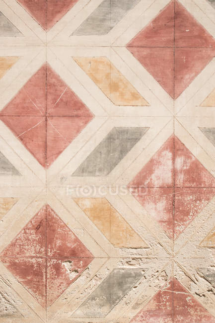 Close-up view of ancient wall pattern — Stock Photo