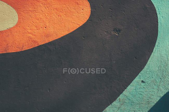 Resumo pintado a superfície da parede de concreto — Fotografia de Stock