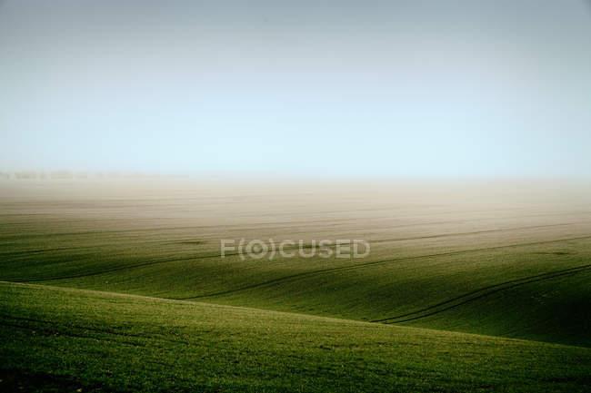 Landschaft mit Sichtfeld — Stockfoto