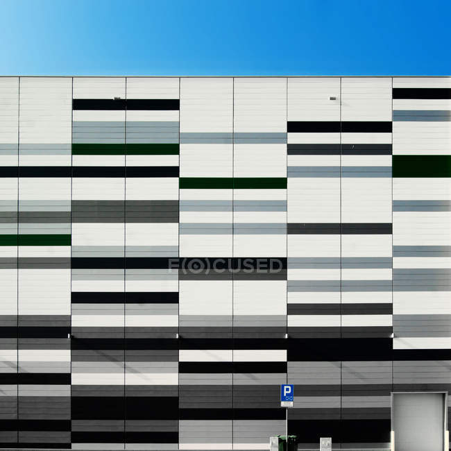 Modern building in Zgorzelec — Stock Photo