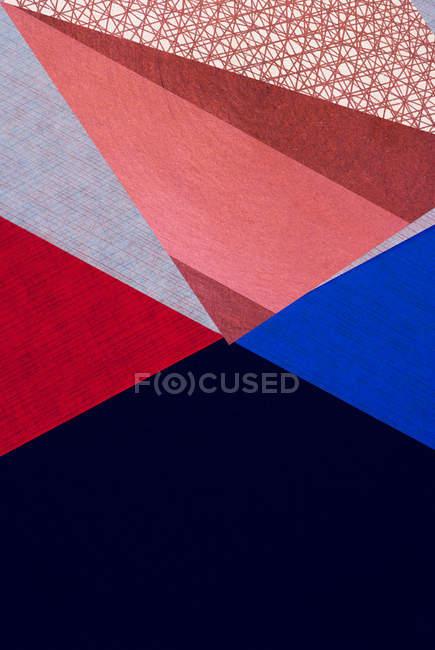 Красочные картины структуры и формы — стоковое фото