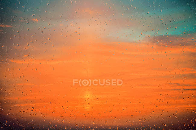 Sunset sky view — Stock Photo