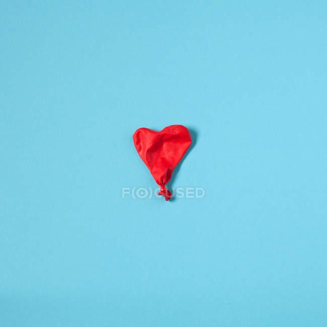 Balão de ar desinflado — Fotografia de Stock