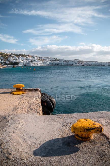 Краєвид з моря бухта — стокове фото