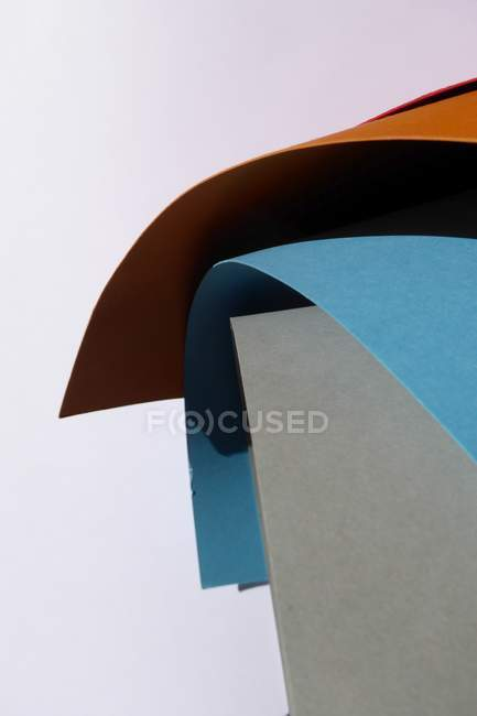 Close-up view of paper sheets pattern — Stock Photo