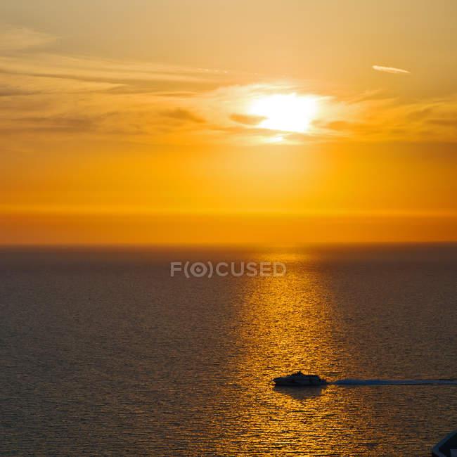 Skyline середземноморської Червоного моря — стокове фото