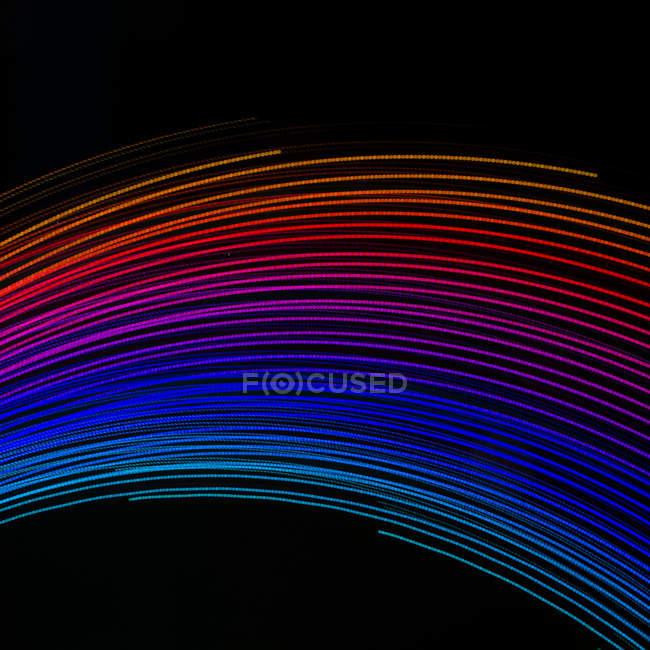 Sfondo astratto linee colorate — Foto stock