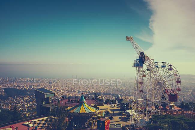 Tibidabo Amusement Park — Stock Photo