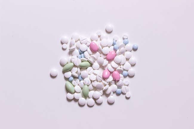 Pillole e compresse di diferent — Foto stock