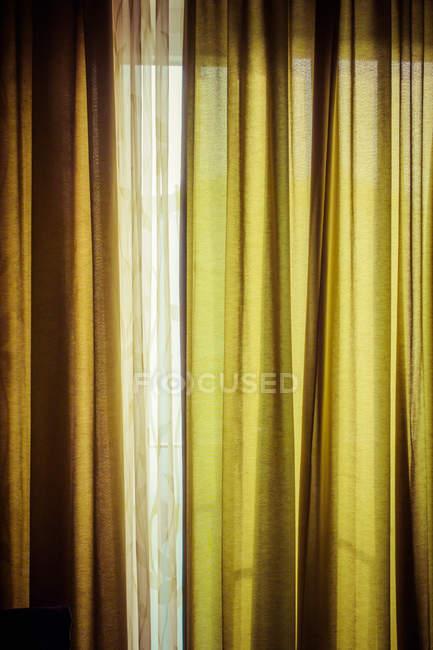 Vista de primer plano de Resumen cortinas patrón - foto de stock