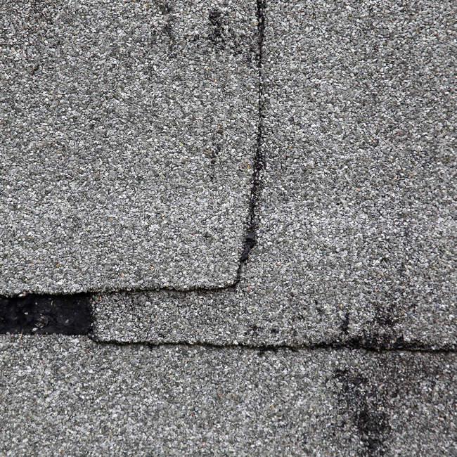 Gros coup de route asphaltée — Photo de stock