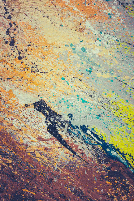 Abstract textured backdrop with painted canvas — Stock Photo