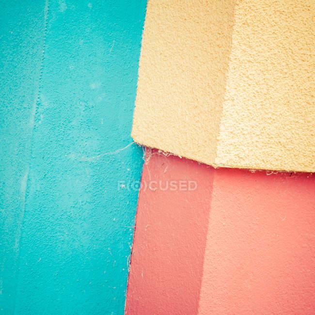 Повного кадру зображення барвисті бетонну стіну — стокове фото