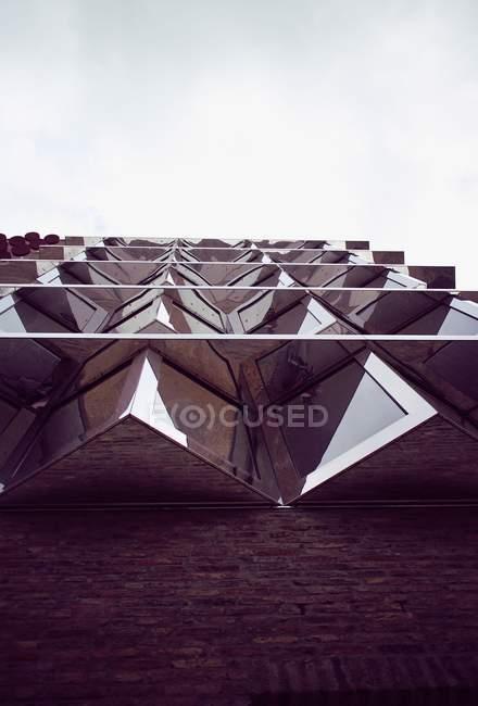 Façade du bâtiment de l'architecture, l'architecture moderne — Photo de stock